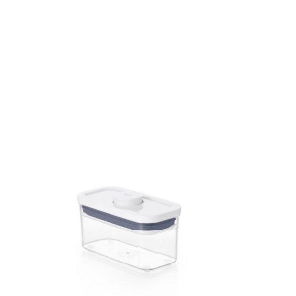 Bote Pop rectangular estrecho 0,4 litros de OXO