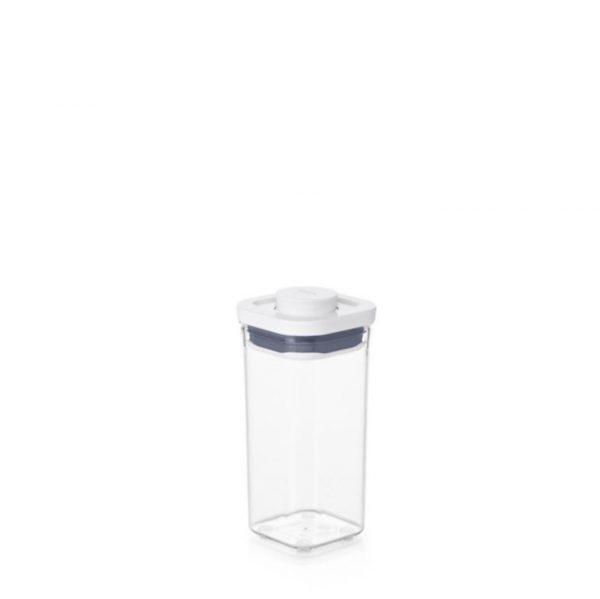 Bote Pop cuadrado mini 0,5 litros de OXO