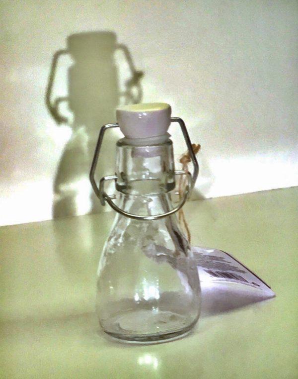 Botella 80 ml con cierre de palanca