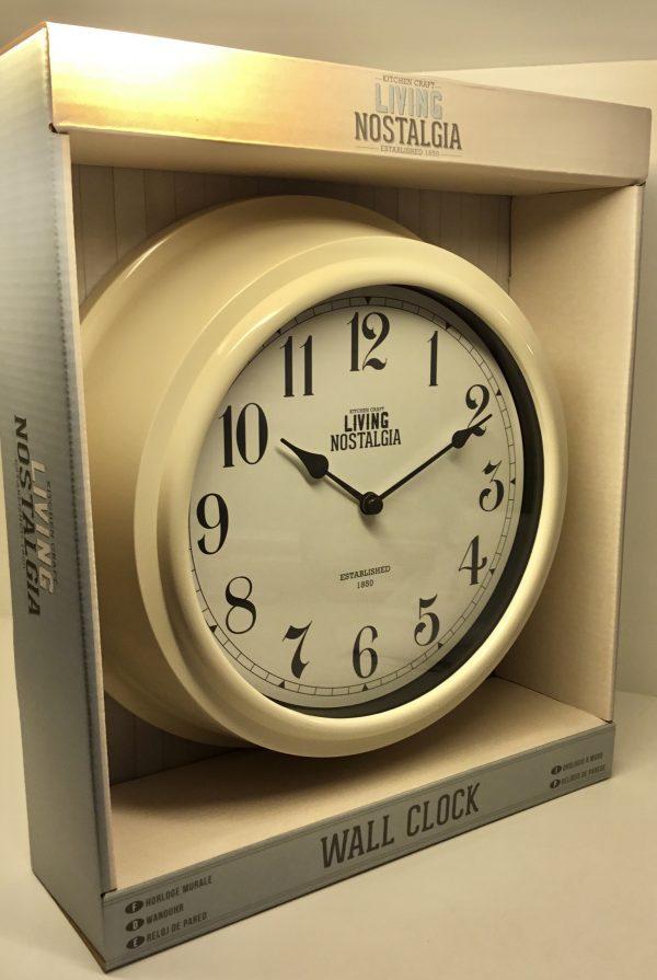 Reloj de pared Nostalgia