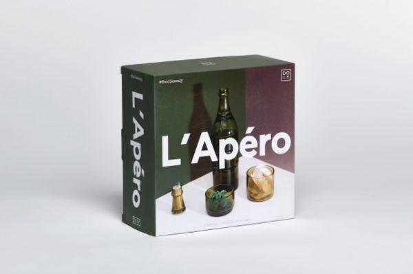 Juego de aperitivos L'Apéro (verde)