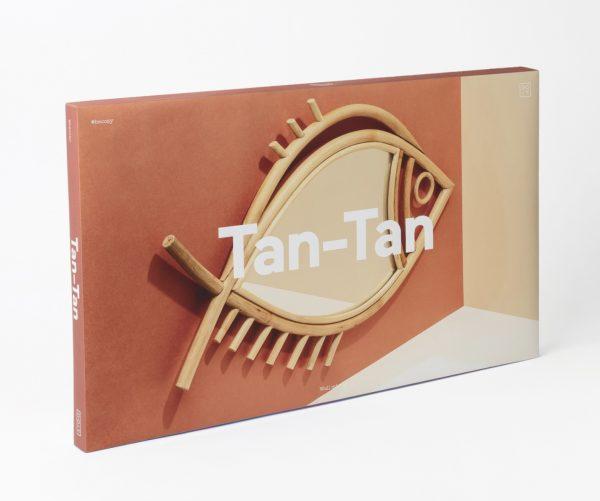 Espejo de pared Tan‑Tan (grande)