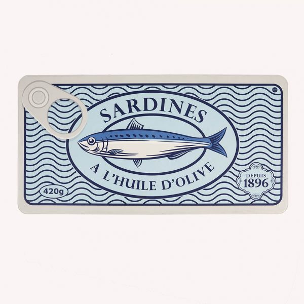 Alfombra para cocina Sardines