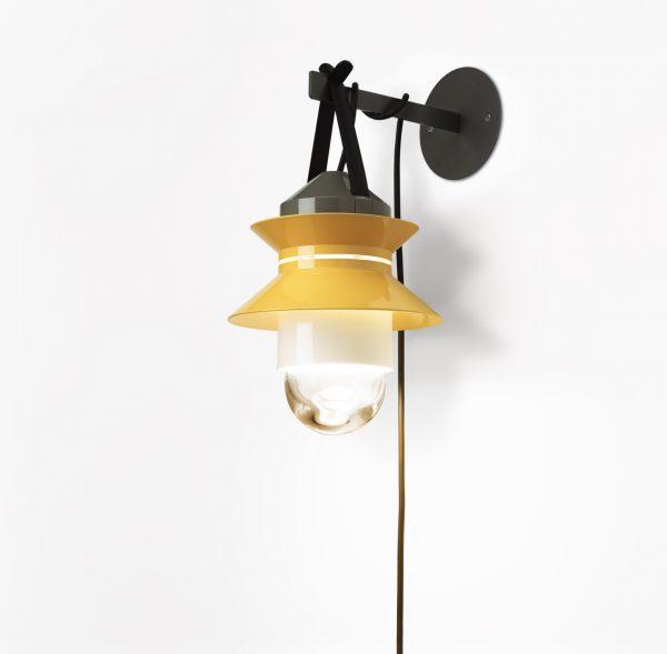 Soporte de pared para lámpara Santorini