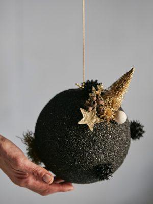 Bola d'arena negra (Ø 18 cm)