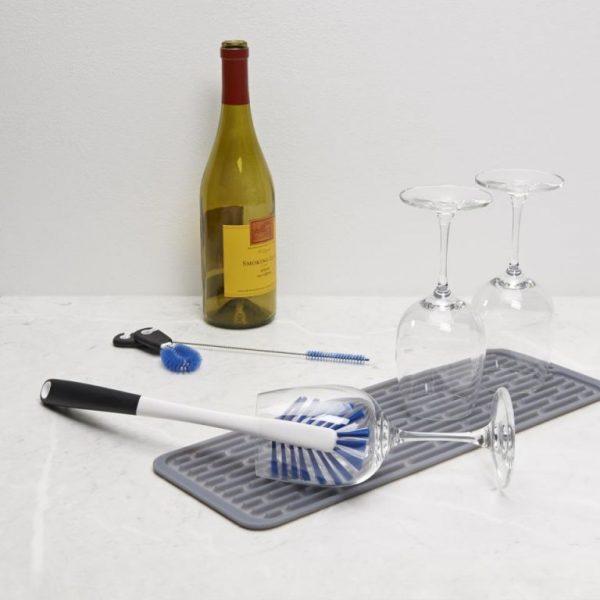 Set de limpieza para botellas de agua y deporte
