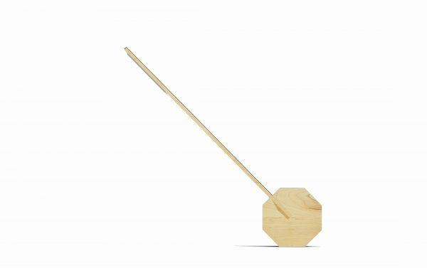 Lámpara de escritorio Octagon One (madera de arce)