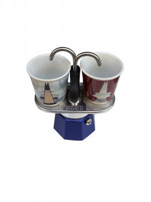 Set miniexpreso de Bialetti (2 tazas - Magritte)