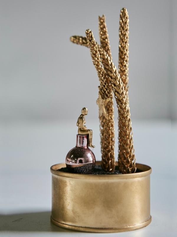 Mundo a la lata «gold» (Ø 7 cm x 15 cm)