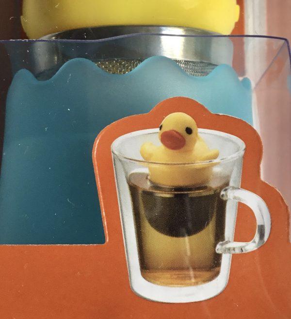 Pato infusionador de té