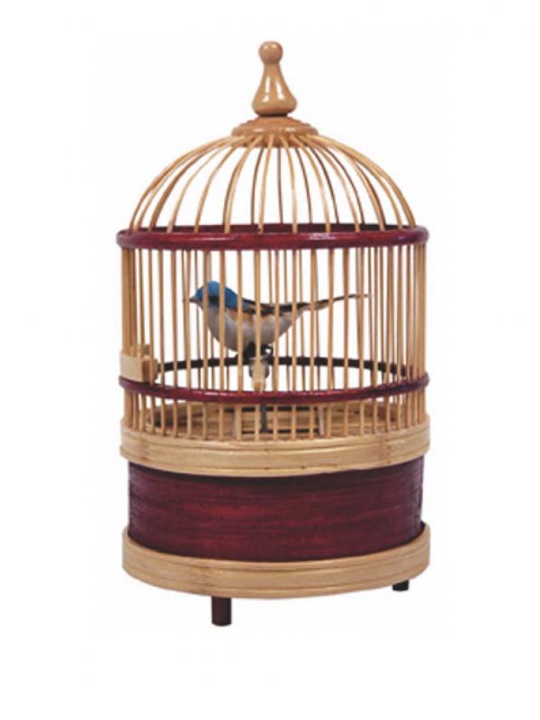 Pájaro jaula con sonido