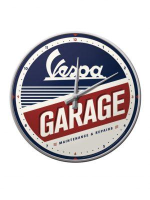 Reloj de pared Vespa - Garage<br>¡Próximo en llegar,<br>+/- 8 días!