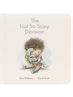 The Not So Scary Dinosaur Book. Jellycat. ('El dinosaurio no tan aterrador')