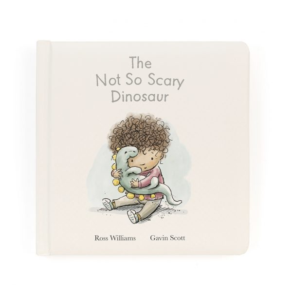 The Not So Scary Dinosaur Book. Jellycat. ('El dinosaurio no tan aterrador')