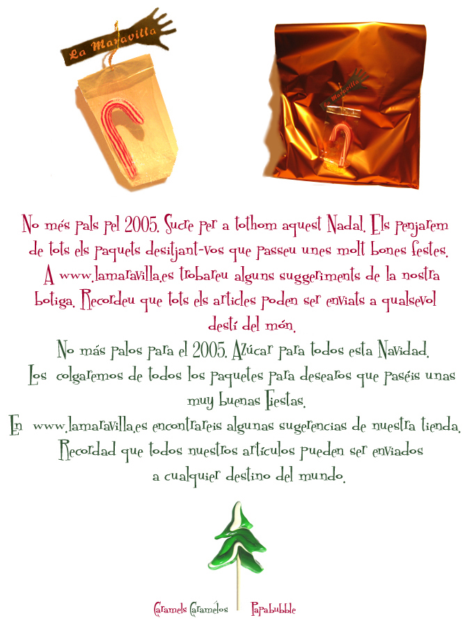La Maravilla News - Navidad 2004