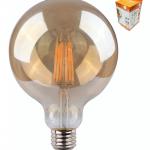 Bombilla globo LED E27 (Ø 8 cm)