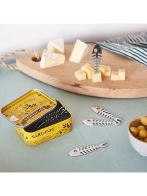 Tenedor para aperitivo Sardines (6 unidades)