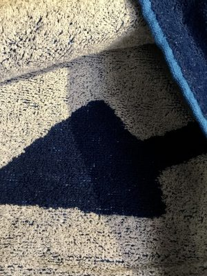 Toalla azul Ancla