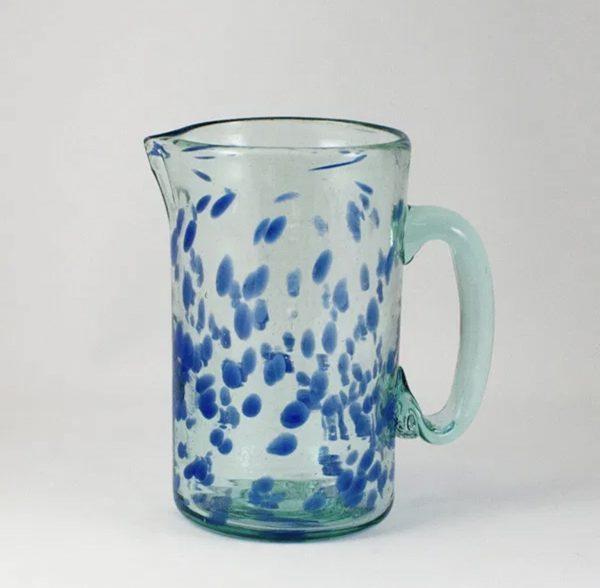 Jarra de vidrio Mar (azul)