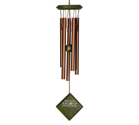 Campana de viento Mercurio (bronce)