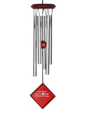Campana de viento Mercurio (plateado)