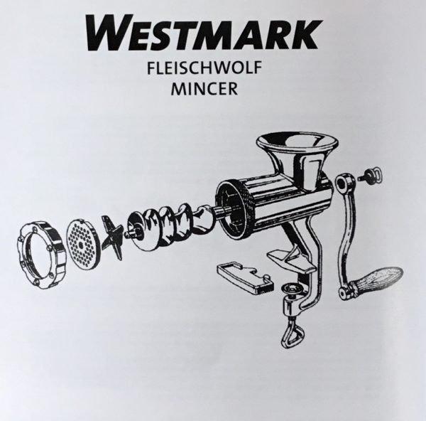 Picadora de carne Westmark