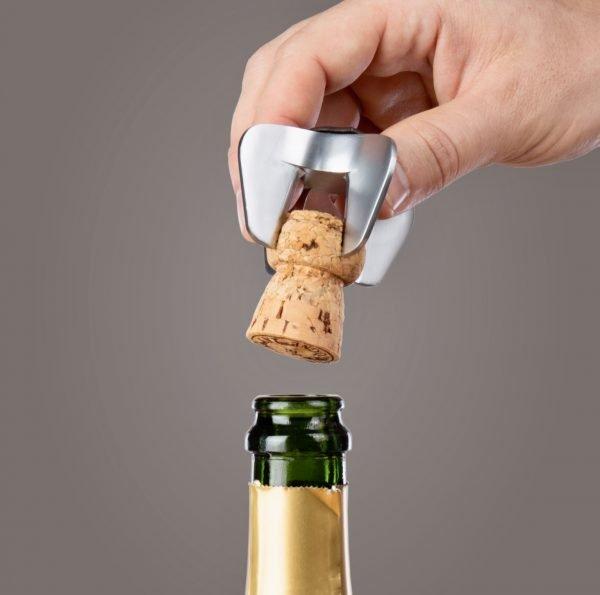 Abrebotellas de cava, champán y prosecco