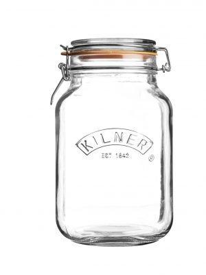 Bote de cocina Kilner (1,5 L/cuadrado)