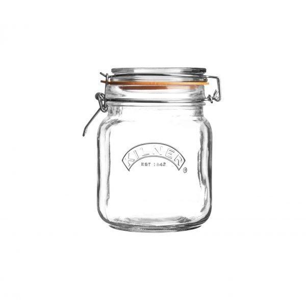 Bote de cocina Kilner (1 L/cuadrado)