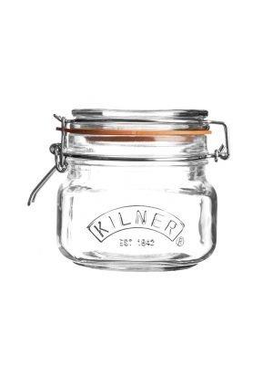 Bote de cocina Kilner (50 cl/cuadrado)