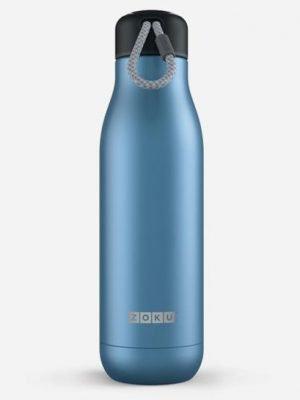 Zoku botella 500 ml (azul oscuro)